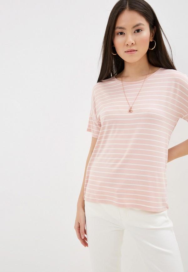 женская футболка taifun, розовая