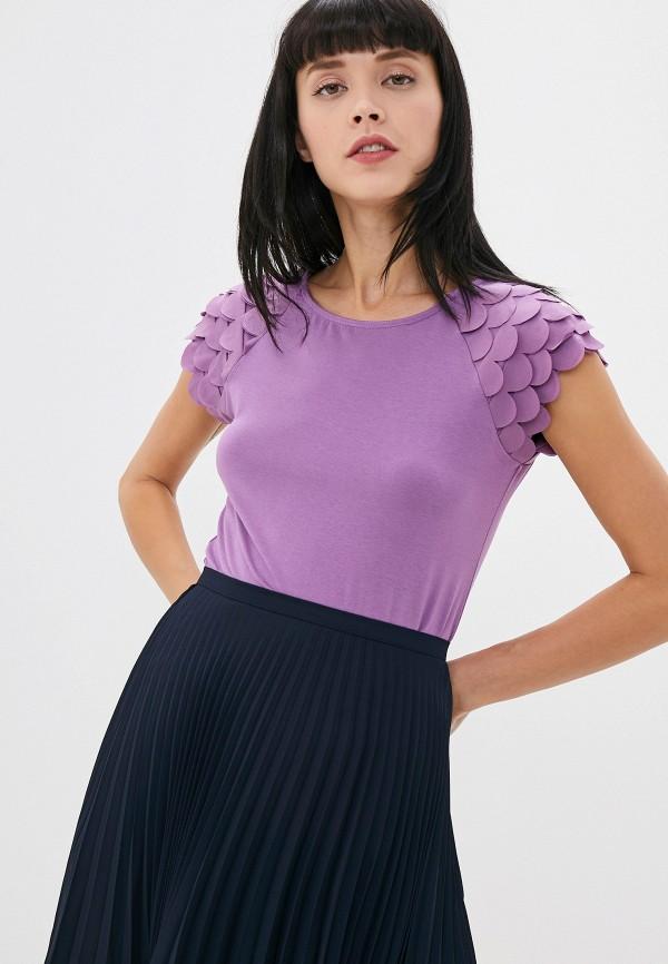 женская футболка taifun, фиолетовая