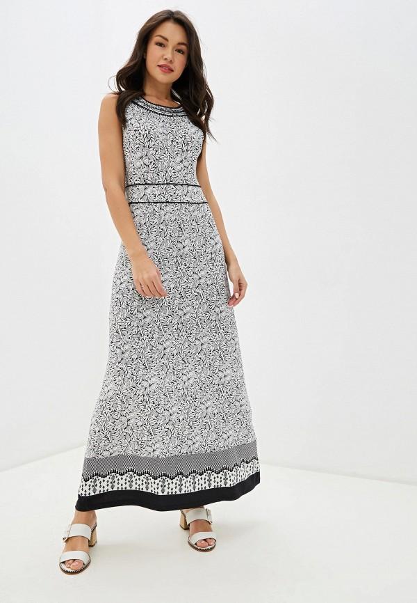 женское повседневные платье taifun, белое
