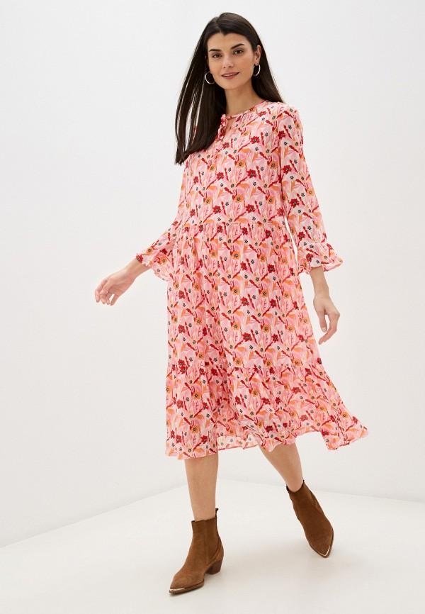 женское повседневные платье taifun, розовое