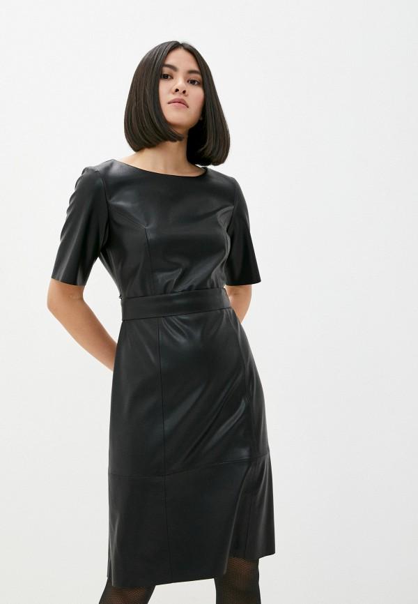 женское платье taifun, черное
