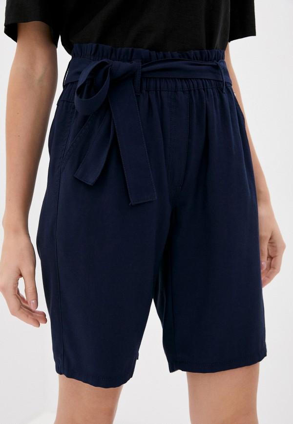 женские повседневные шорты taifun, синие