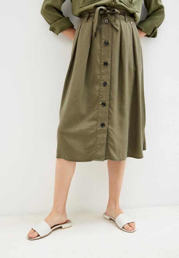 женская юбка taifun, хаки