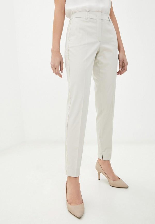 женские классические брюки taifun, бежевые