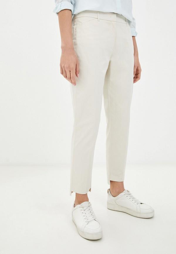 женские прямые брюки taifun, белые