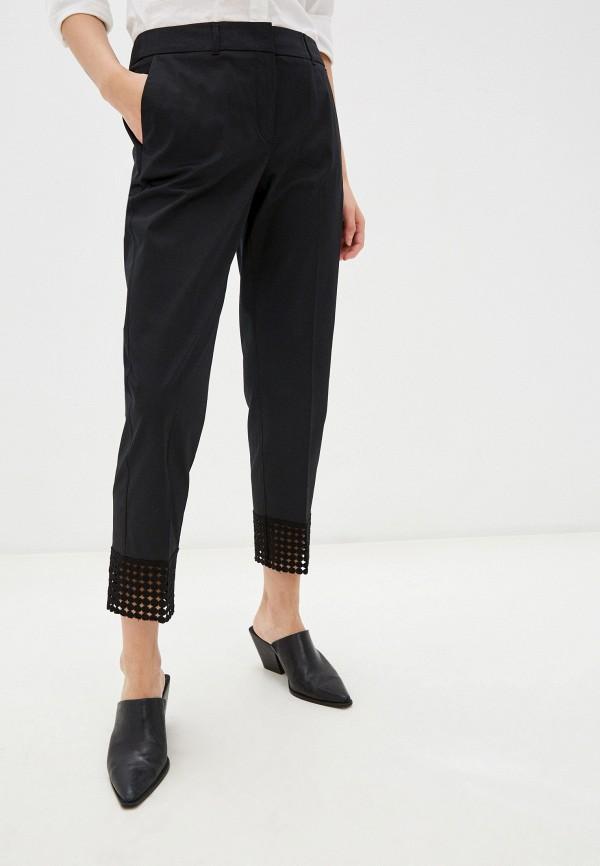 женские прямые брюки taifun, черные