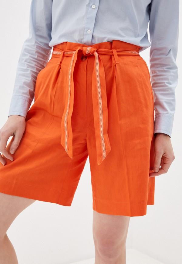 женские повседневные шорты taifun, оранжевые