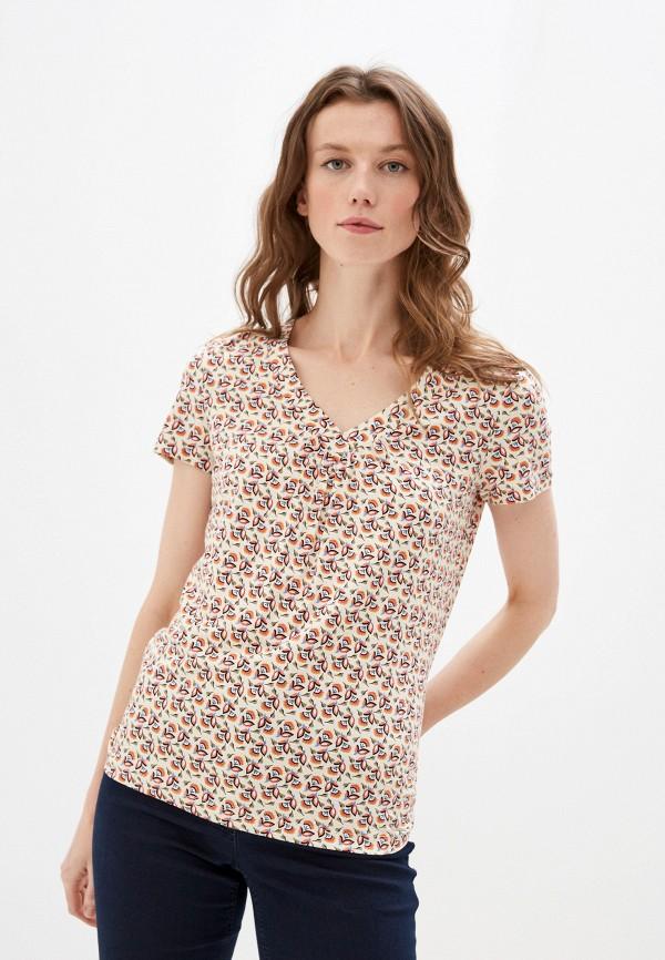 женская футболка taifun, разноцветная