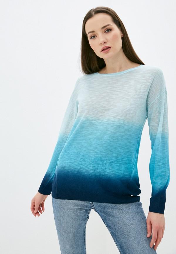 женский джемпер taifun, голубой