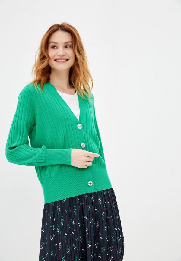 женский кардиган taifun, зеленый