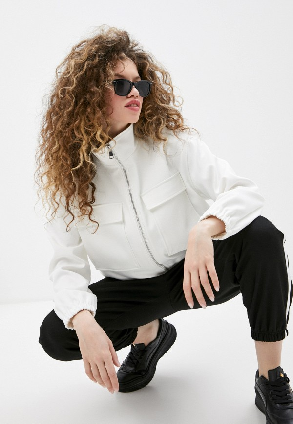 женская куртка taifun, белая