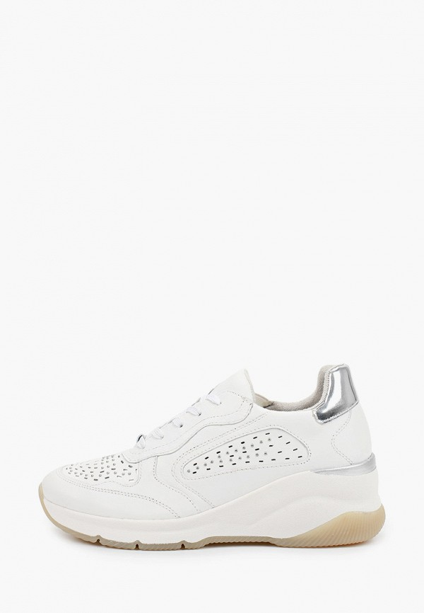 женские кроссовки tamaris pure relax, белые