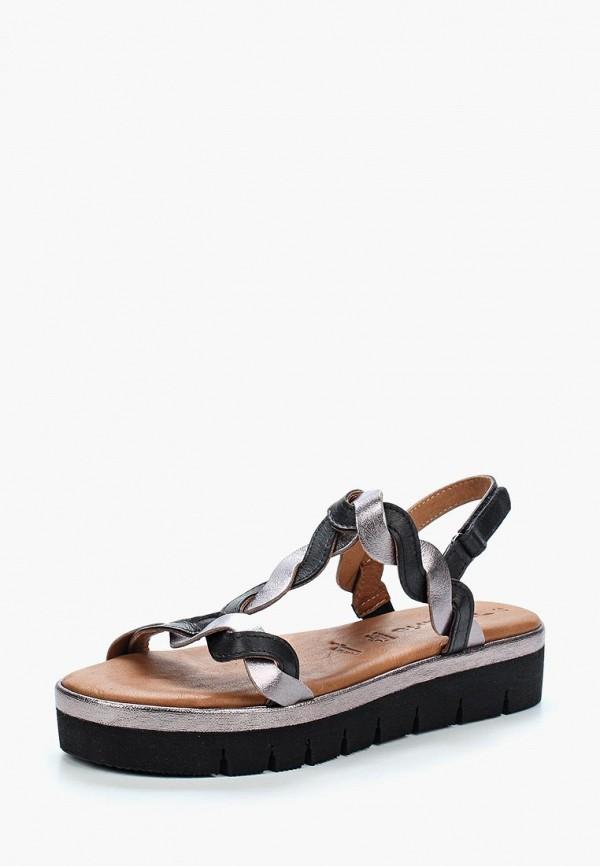 Купить Сандалии Tamaris, ta171awacnt7, черный, Весна-лето 2018