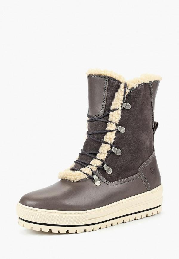 Купить Ботинки Tamaris, TA171AWBZNS2, серый, Осень-зима 2018/2019