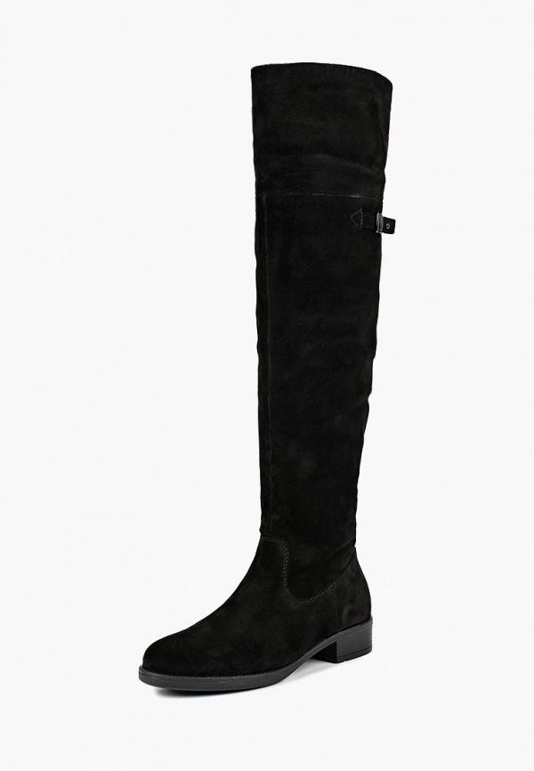 женские ботфорты tamaris, черные