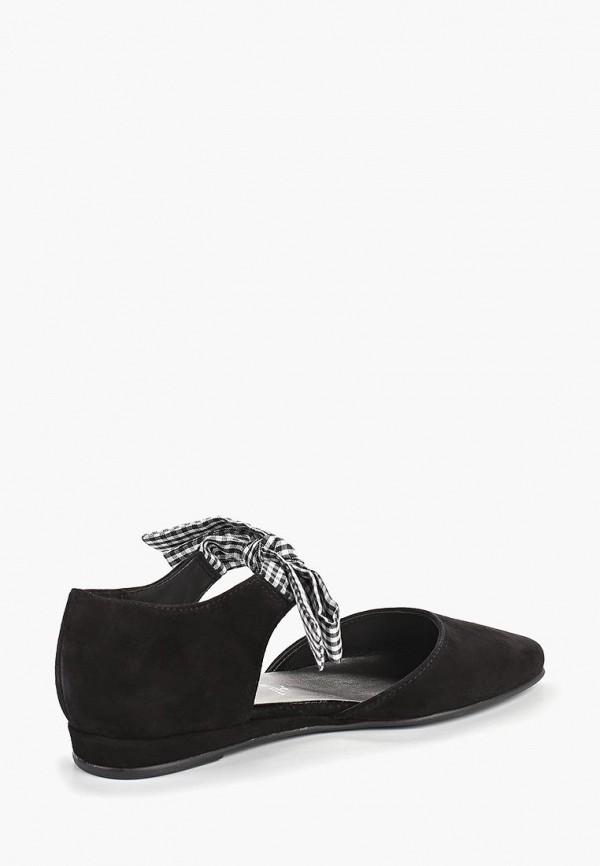 Фото 3 - женские туфли Tamaris черного цвета
