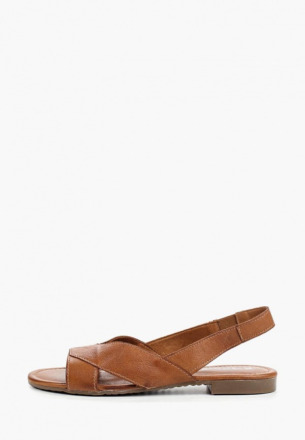 женские сандалии tamaris, коричневые