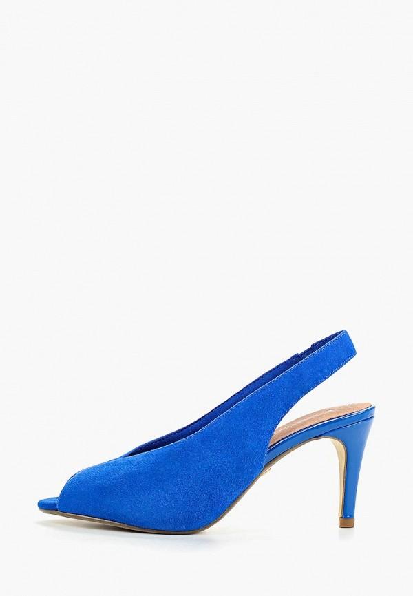 женские босоножки tamaris, синие