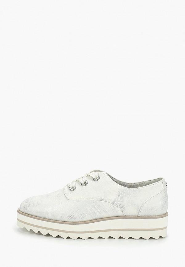 женские ботинки tamaris, серебряные