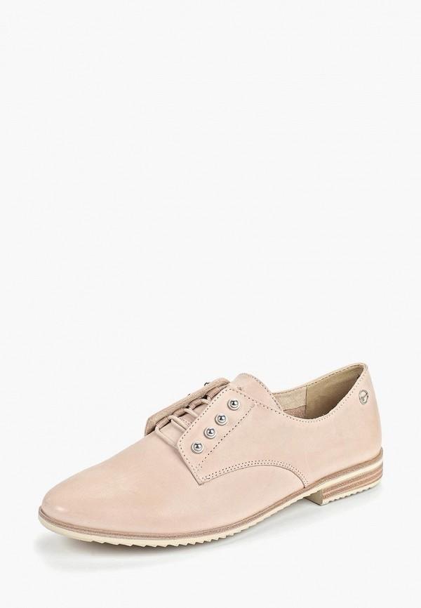 Фото 2 - женские ботинки и полуботинки Tamaris розового цвета