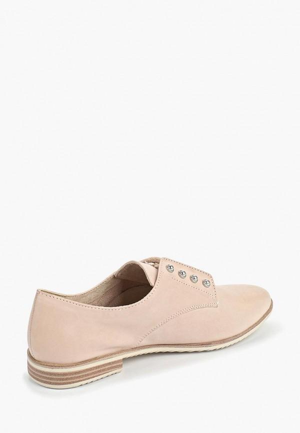 Фото 3 - женские ботинки и полуботинки Tamaris розового цвета