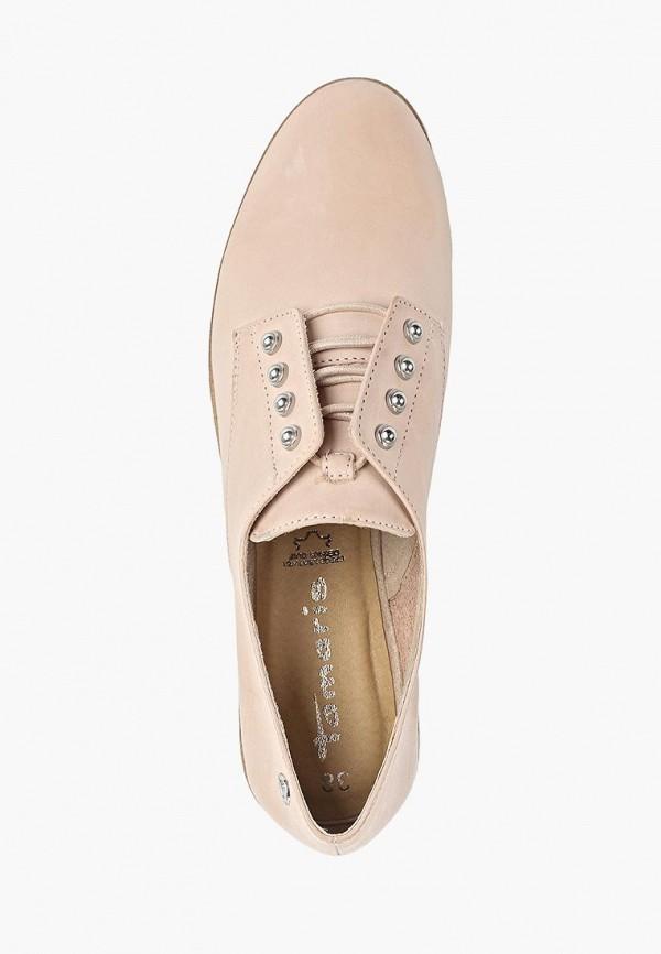 Фото 4 - женские ботинки и полуботинки Tamaris розового цвета