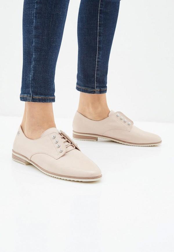 Фото 6 - женские ботинки и полуботинки Tamaris розового цвета