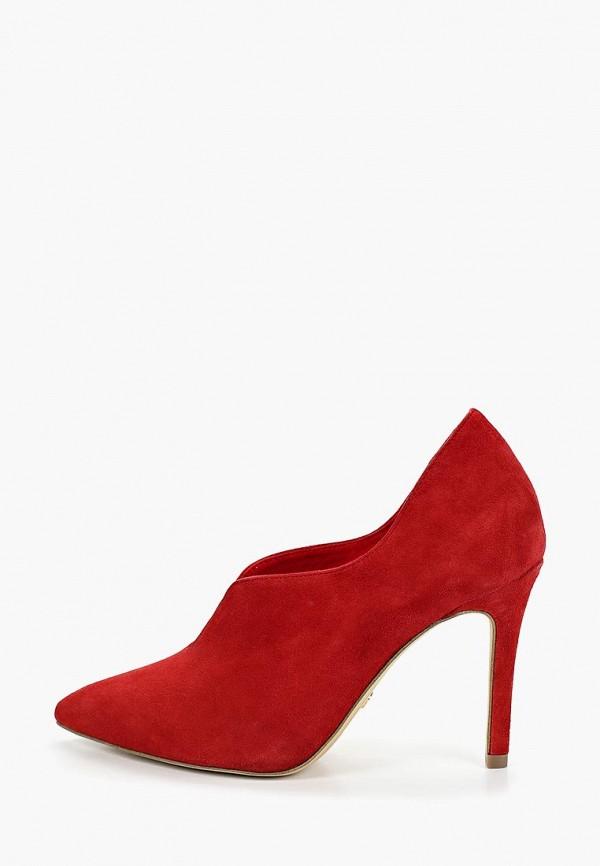 женские ботильоны tamaris, красные