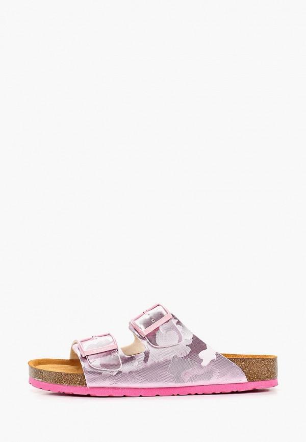 женское сабо tamaris, розовое