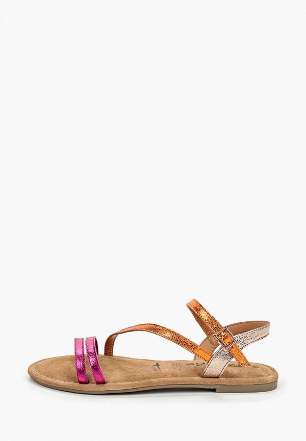 женские сандалии tamaris, разноцветные