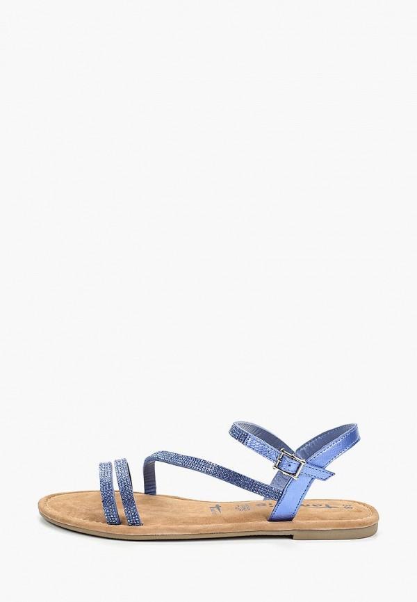 женские сандалии tamaris, синие
