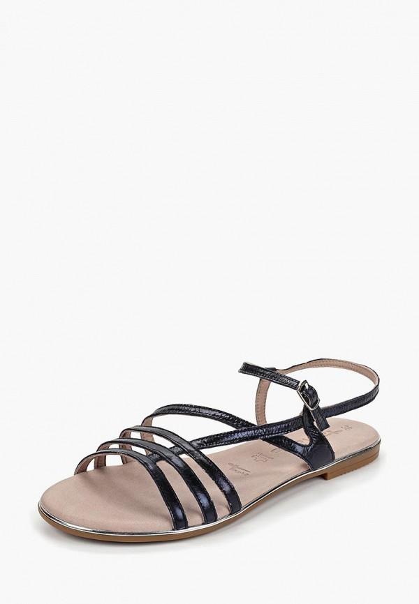 Фото 2 - женские сандали Tamaris синего цвета