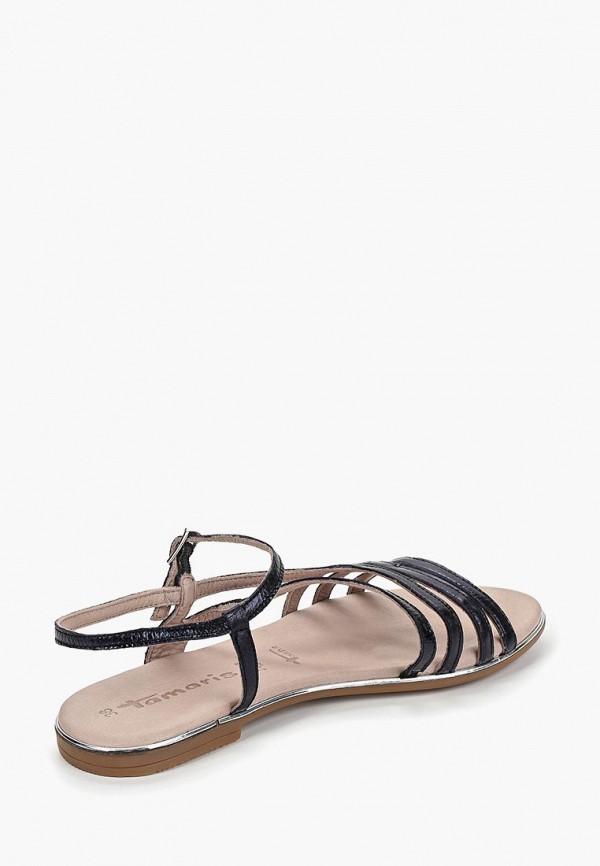 Фото 3 - женские сандали Tamaris синего цвета