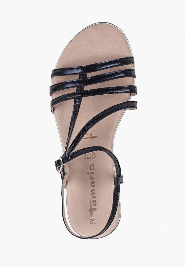 Фото 4 - женские сандали Tamaris синего цвета