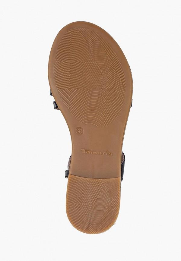 Фото 5 - женские сандали Tamaris синего цвета