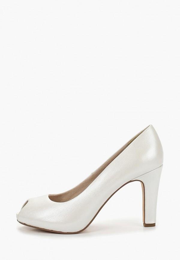 Фото - женские туфли Tamaris белого цвета