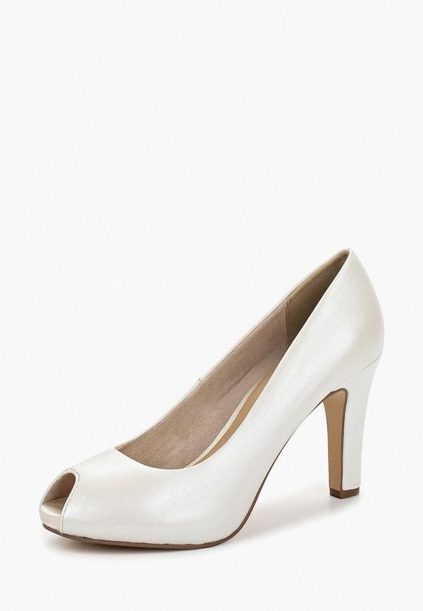 Фото 2 - женские туфли Tamaris белого цвета