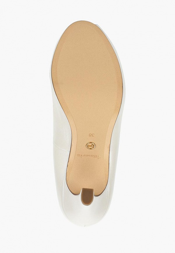 Фото 5 - женские туфли Tamaris белого цвета