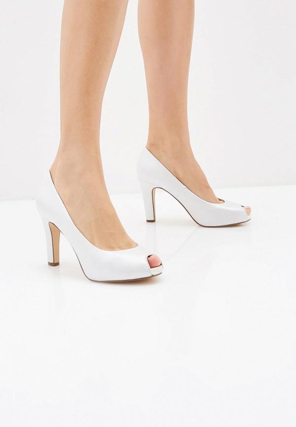 Фото 6 - женские туфли Tamaris белого цвета