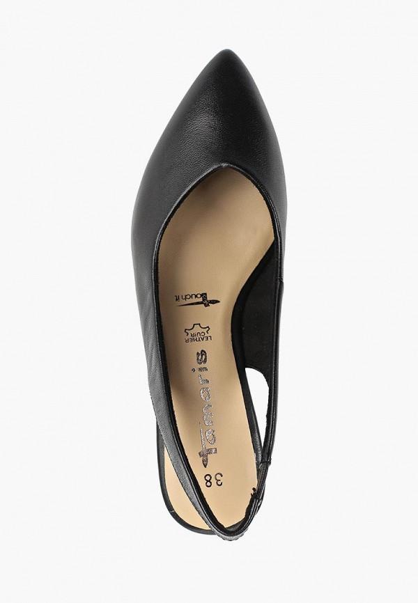 Фото 4 - женские туфли Tamaris черного цвета