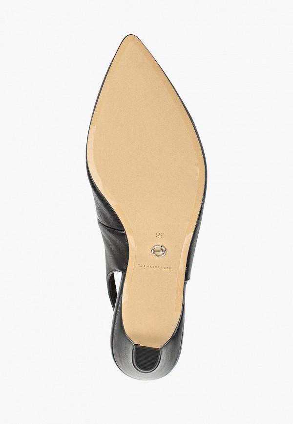 Фото 5 - женские туфли Tamaris черного цвета