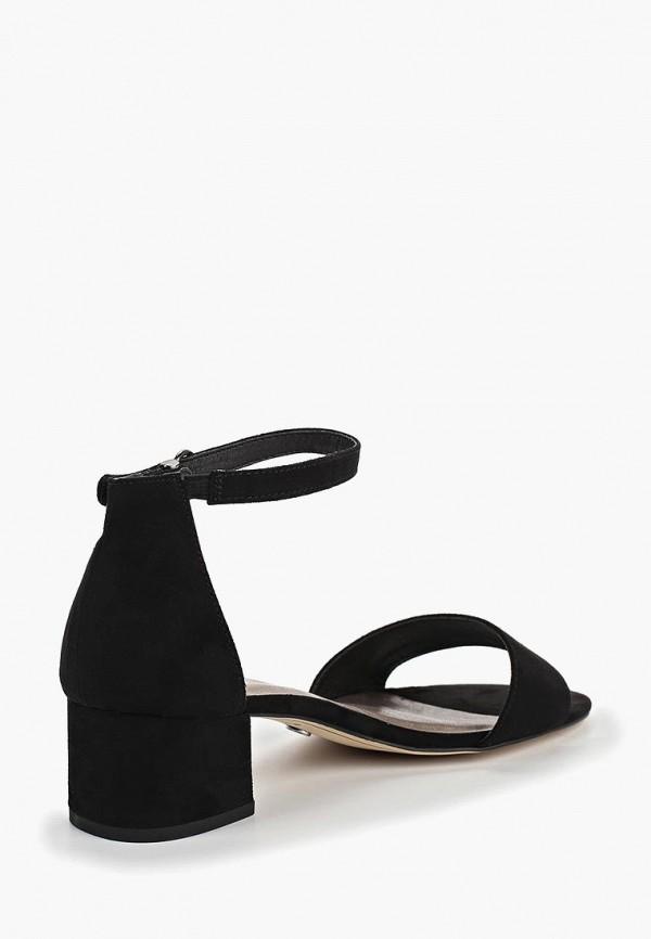 Фото 3 - женские босоножки Tamaris черного цвета
