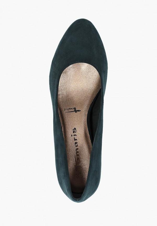 Фото 4 - Женские туфли Tamaris зеленого цвета