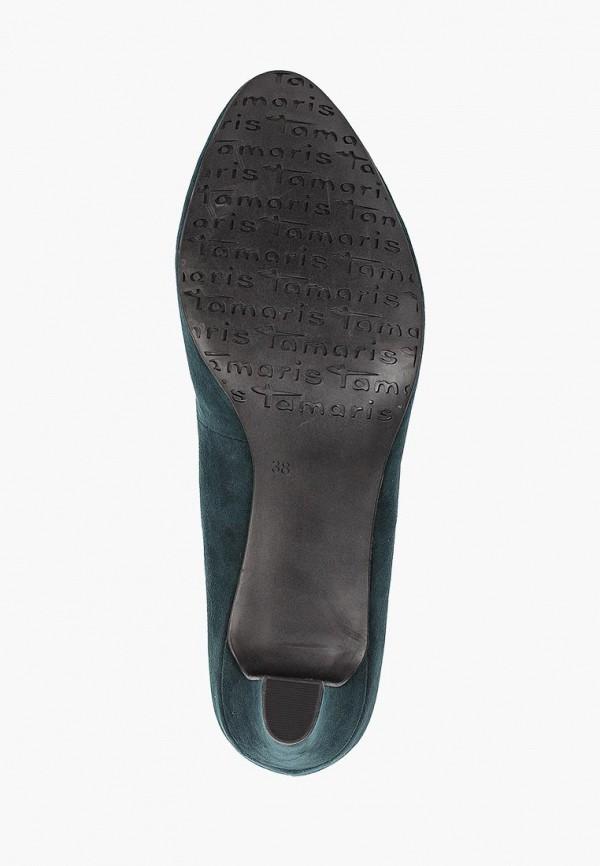 Фото 5 - Женские туфли Tamaris зеленого цвета