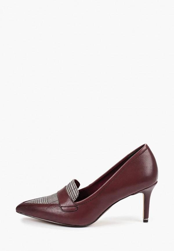 женские туфли tamaris, бордовые