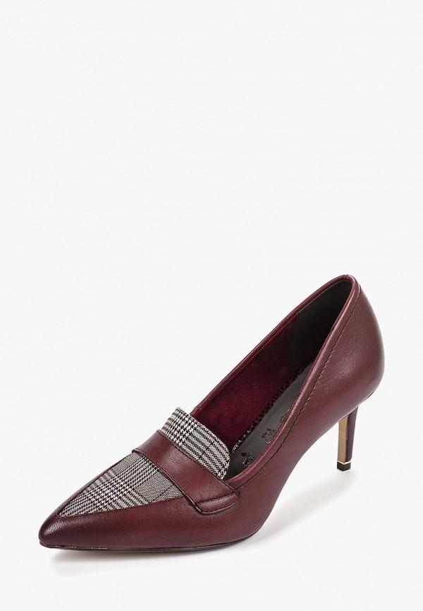 Фото 2 - Женские туфли Tamaris бордового цвета