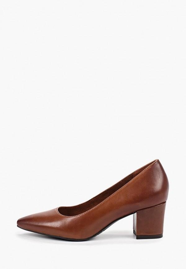 Фото - Женские туфли Tamaris коричневого цвета