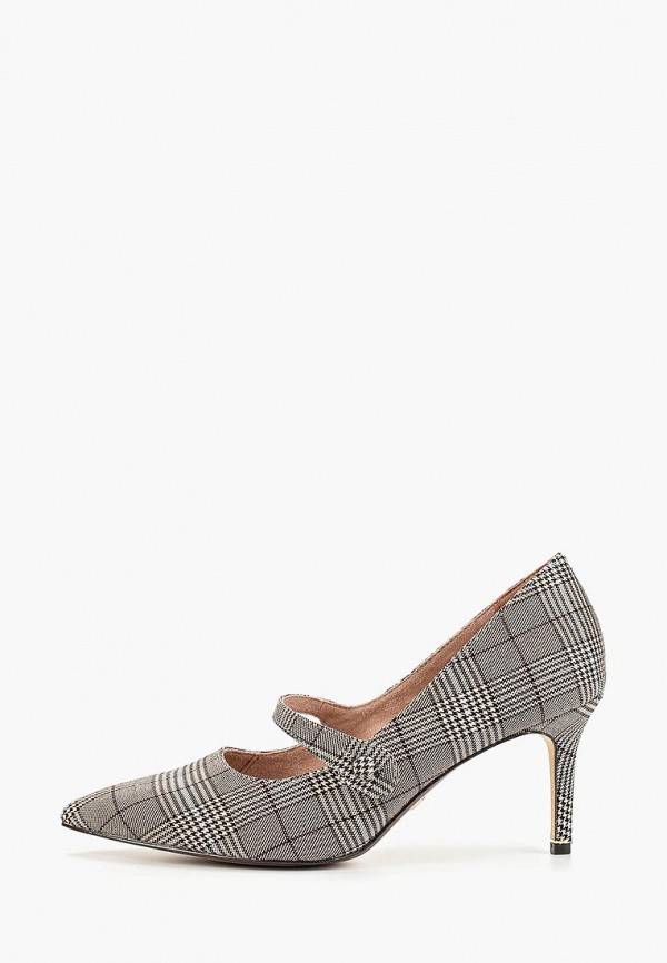 женские туфли tamaris, серые