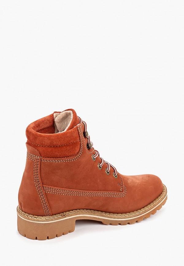 Фото 3 - Женские ботинки и полуботинки Tamaris оранжевого цвета