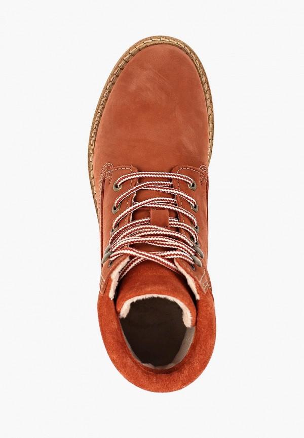 Фото 4 - Женские ботинки и полуботинки Tamaris оранжевого цвета